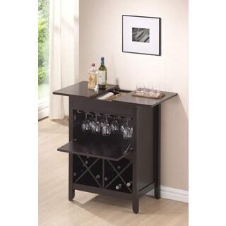 Leo Wenge Wine Cabinet