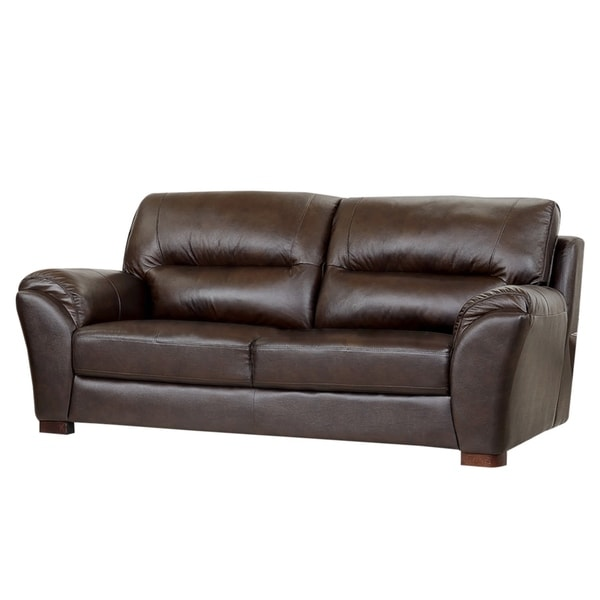 ABBYSON LIVING Caprice Top Grain Leather Sofa