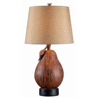 Design Craft Pear Table Lamp