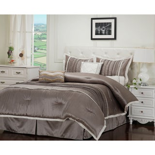 Luxor Treasures Wrinkle Resistant Blakely 7-piece Comforter Set