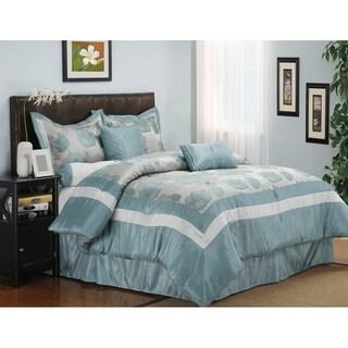 Wrinkle Resistant Aloha 7-piece Comforter Set
