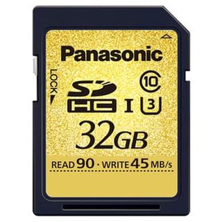 Panasonic RP-SDUC32GAK Gold Series Ultra High Speed Class 3 SD Card
