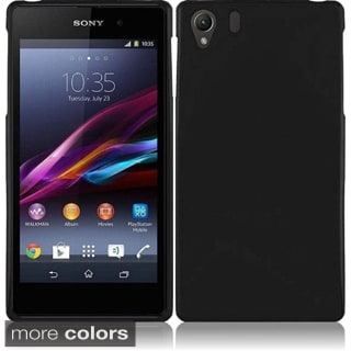 Insten Plain Frosted TPU Rubber Candy Skin Phone Case Cover For Sony Xperia Z1 C6902