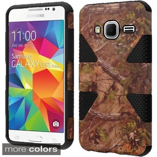Insten Dynamic Hard PC/ Silicone Hybrid Rubberized Matte Phone Case Cover For Samsung Galaxy Core Prime/ Prevail