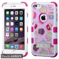 Insten Design Pattern Hard PC/ Silicone Dual Layer Hybrid Rubberized Matte Phone Case Cover For Apple iPhone 6