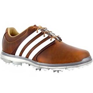 Adidas Men's Pure 360 LTD Tan Brown Golf Shoes