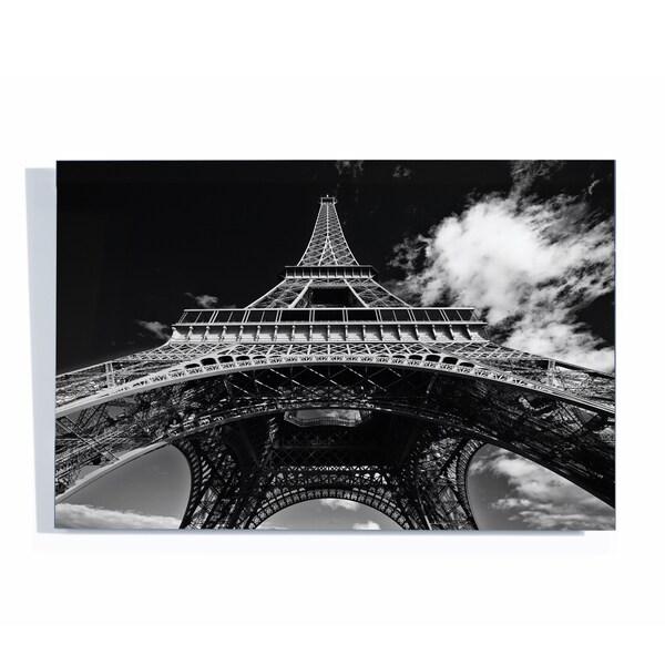 Yale Gurney 'Paris Eiffel Tower 1' Acrylix Art