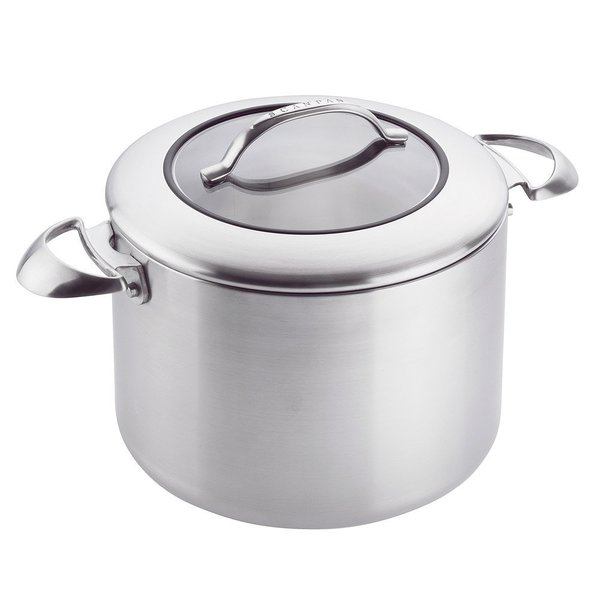 Scanpan Stainless Steel CSX Covered 8-Quart Stock Pot