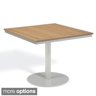 Oxford Garden Travira 36 inch Square Bistro Table