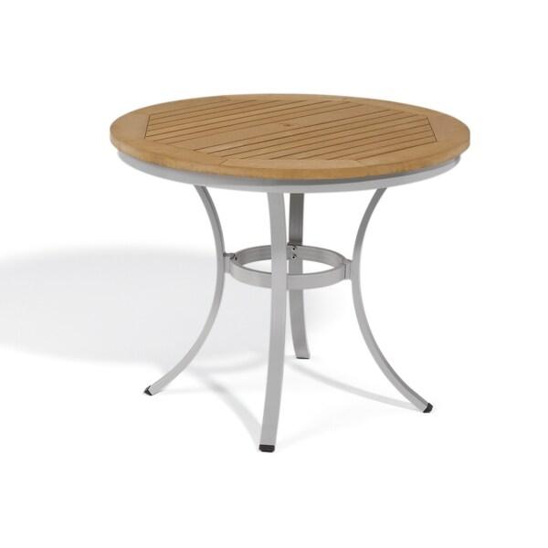 Oxford Garden Travira 36 Inch Round Cafe Bistro Table 17122877 Shopping Big