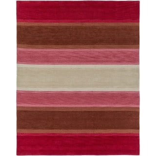 Hand-Tufted Filey Stripe Acrylic Rug (7'6 x 9'6)
