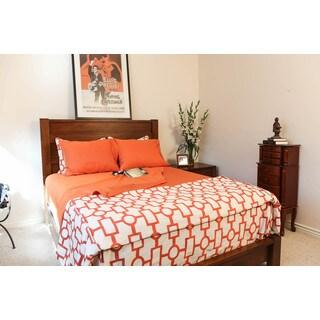 Somette Mahogany Honey Queen Bed