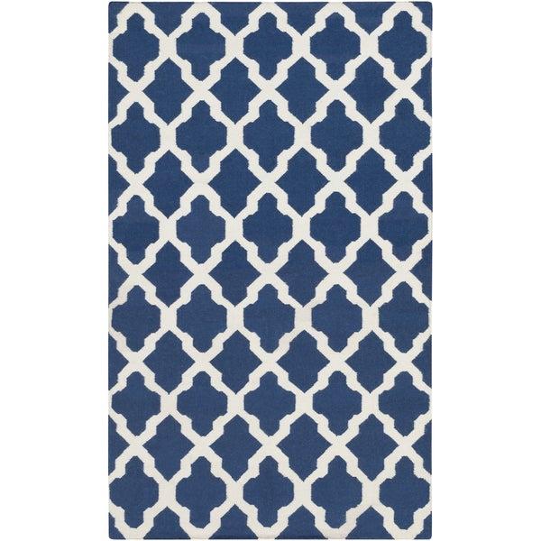 Artistic Weavers Flatweave Olney Moroccan Trellis Wool Rug (2' x 3')