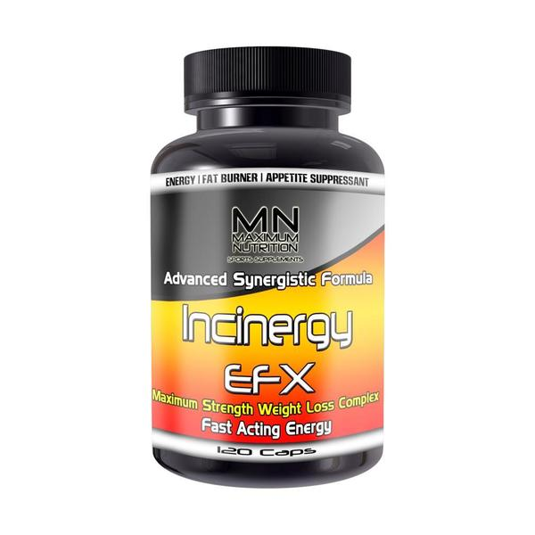 Incinergy EFX Multi-Pathway Rapid Weight Loss Matrix (120 Count)