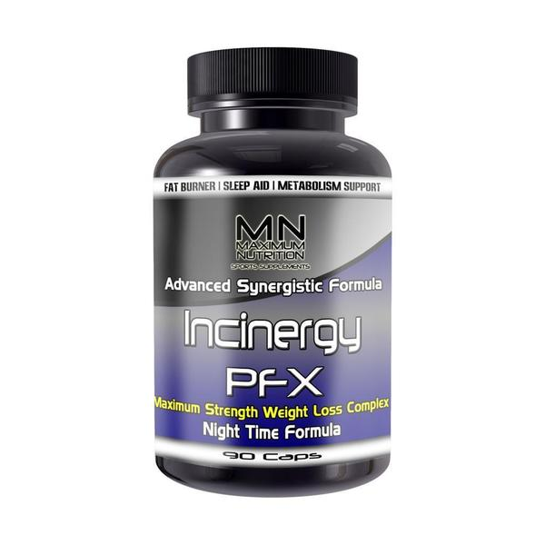 Incinergy PFX Nighttime Weight Loss and Sleep Aid (90 Count)