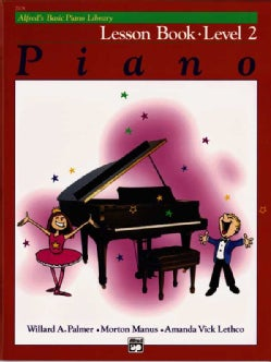 Alfred's Basic Piano Library Lesson Book: Level 2 (Paperback)