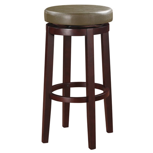 Linon Sloane Green Bar Stool