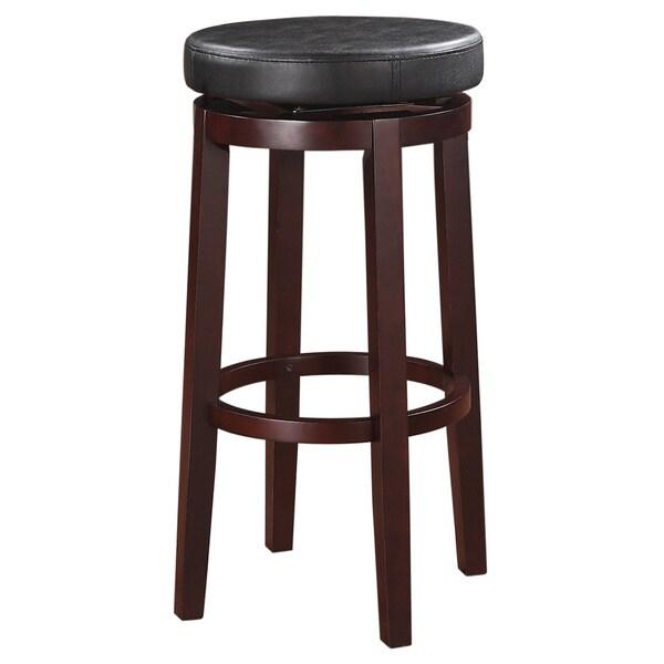 Linon Sloane Black Bar Stool