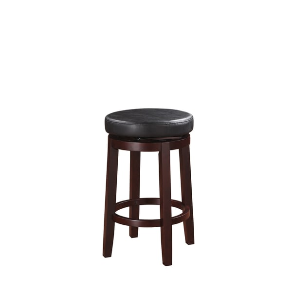 Linon Sloane Black Counter Stool
