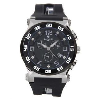 Men's OLA0347G/SS/NR/NR Black Rubber Chronograph Watch (As Is Item)