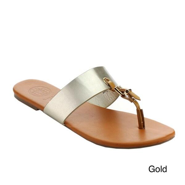 BETANI DORA-22 Women's Clairvoyant Thong Sandals
