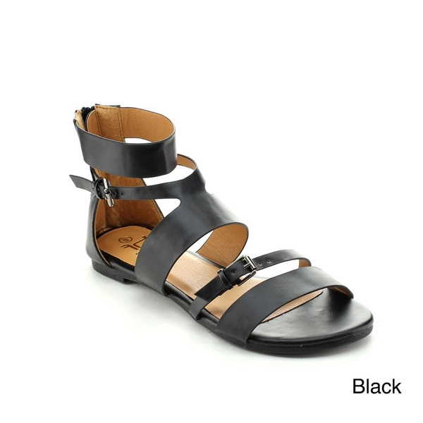 BETANI ERICA-4 Women's Selma Strappy Gladiator Sandals