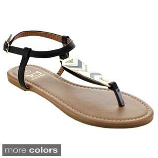 BETANI AMANDA-29 Women's Strappy T-strap Sandals