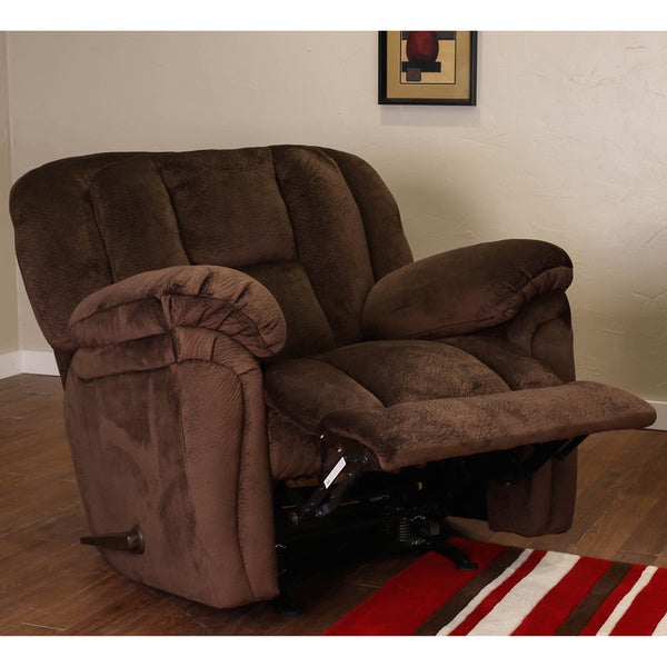 Somette Luton Motion Chocolate Recliner