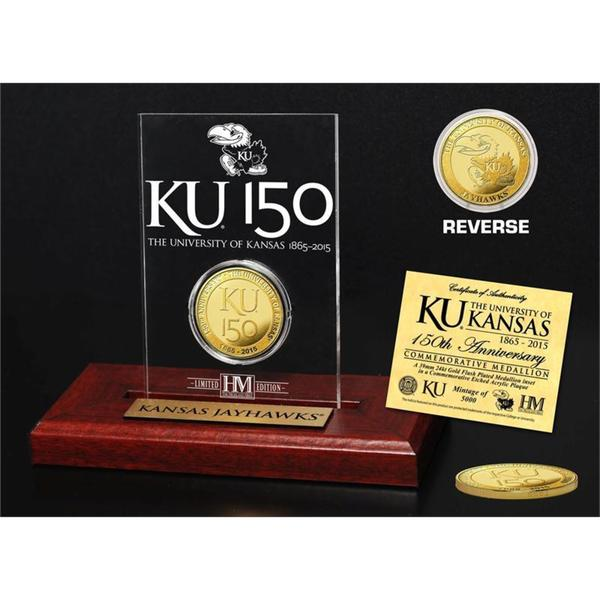 University of Kansas 150th Anniversary Gold Coin