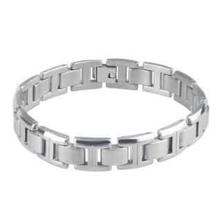 Vance Co. Titanium Men's Polisehd Link Bracelet