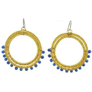 Something Sapphire Earrings - Mata Traders (India)