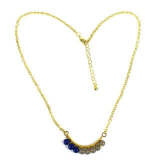 Beaded Ombre Necklace - Mata Traders (India)