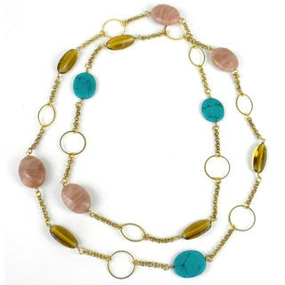 Beaded Santa Ana Necklace - Mata Traders (India)