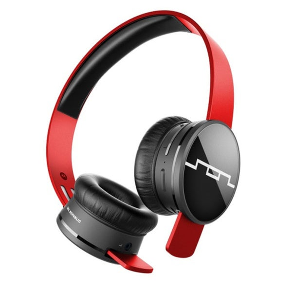 Sol Republic TRACKS AIR Wireless Headphones (Vivid Red)
