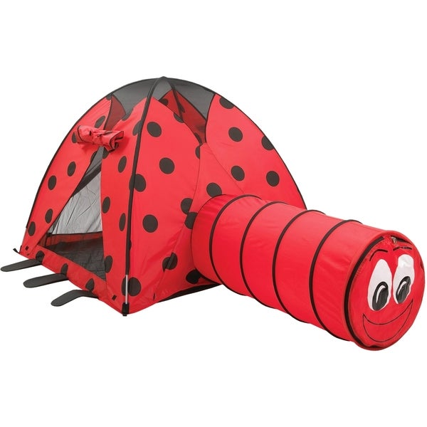 Pacific Play Tents Lady Bug Tent & Tunnel Combo 15026337