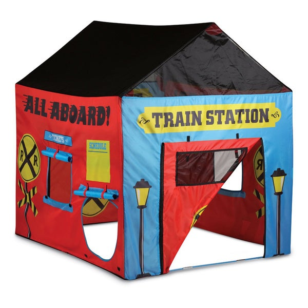 Pacific Play Tents Train Station - House Tent