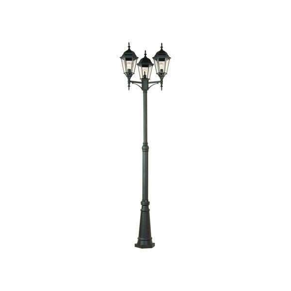 Poles 3-light Outdoor Pole/ Post Mount