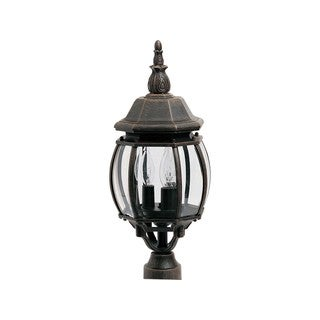 Crown Hill 3-light Outdoor Pole/ Post Mount