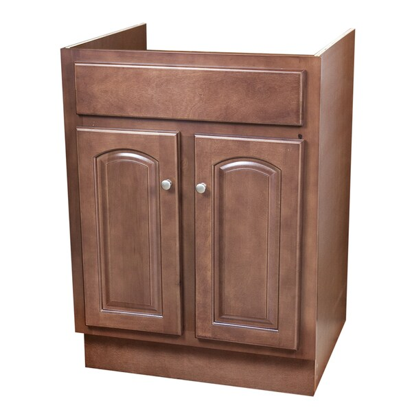 24x21 Riased Panel Maple Bathroom Vanity Cabinet