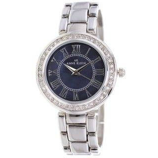 Anne Klein Women's 10-9649BMSV 'Classic' Multi-color Stainless Steel Watch