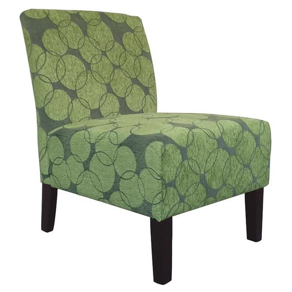 Lanai Fabric Accent Chair-Green