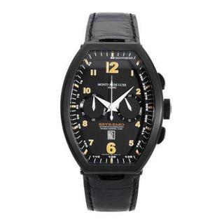 Men's TYPE 12 NERO Black Aluminium Chronograph Watch (As Is Item)