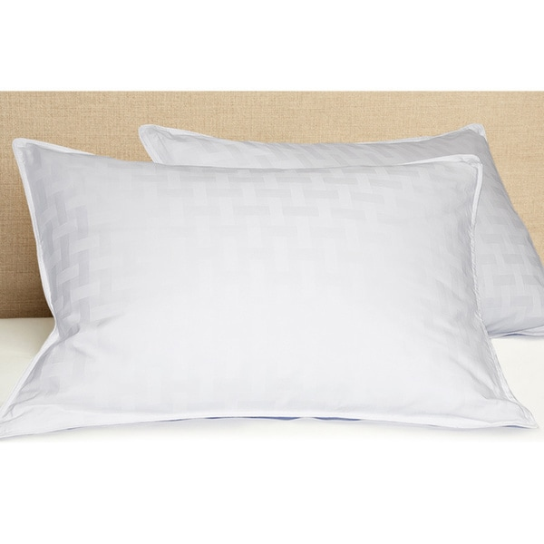 White Down 600 Thread Count Pillow King ( As Is Item )