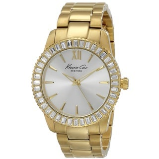Kenneth Cole Women's KC4989 'Classic' Gold-tone Stainless Steel Watch