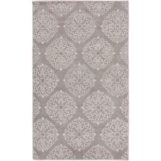 Angelo Surmelis : Hand-Tufted Addie Damask Wool Rug (8' x 11')