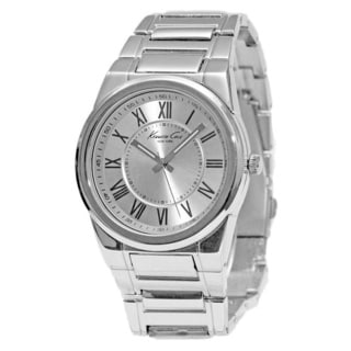 Kenneth Cole Men's KCW3028 Classic Round Silvertone Bracelet Watch