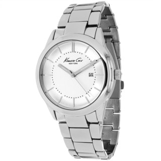 Kenneth Cole Men's 10017122 Classic Round Silvertone Bracelet Watch
