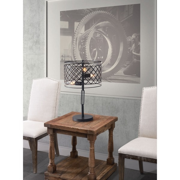 Sprint Rust Table Lamp