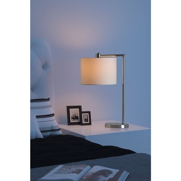 Race Chrome Table Lamp