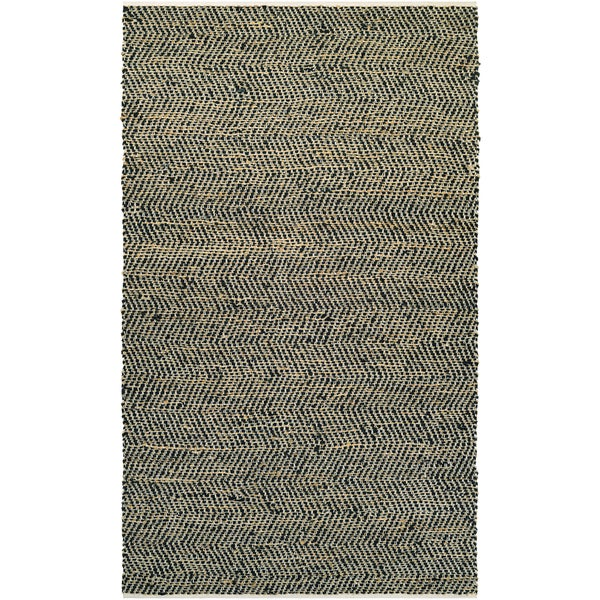 NATURES ELEMENTS Ice/Black 6' x 9' Rug